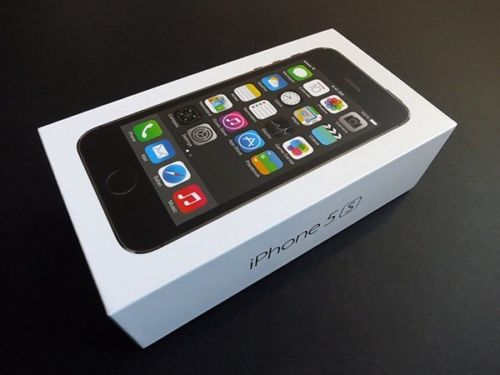 Apple iPhone 5S EMPTY BOX BLACK