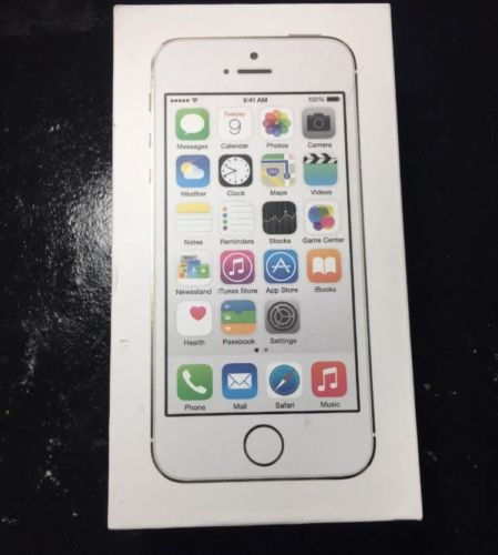 Apple iPhone 5S EMPTY BOX WHITE