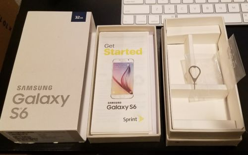 Samsung Galaxy S6 Box Only..No Phone