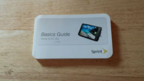 HTC Evo 4G BASICS GUIDE SPRINT