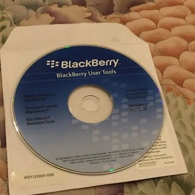 BlackBerry User Tools CD