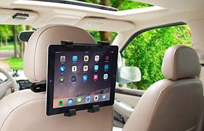 Okra 360° Degree Adjustable Rotating Headrest Car Seat Mount Holder For iPad, Sa