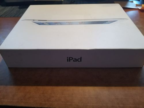 Apple  iPad  White - EMPTY BOX -ONLY whats in pics