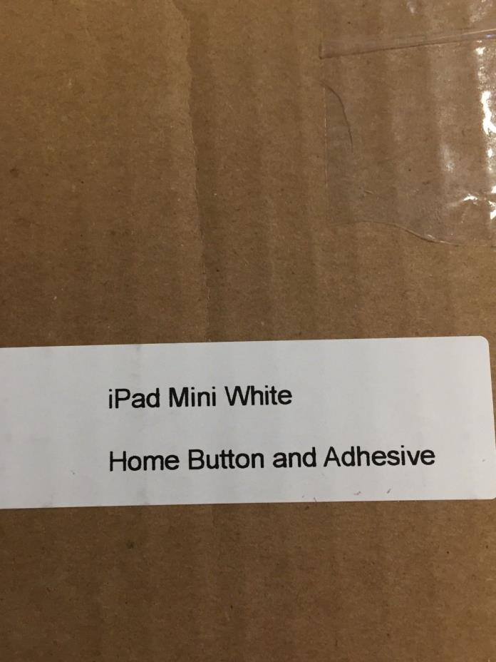 iPad Mini White Digitizer