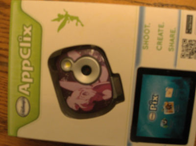 DISNEY TINKER BELL NEW APPCLIX DIGITAL KID 7MP TINK CAMERA - SD CARD - 4 X ZOOM