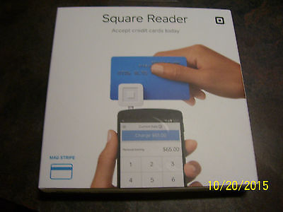 {2} SQUARE READER NIP **ACCEPT CREDIT CARDS TODAY**