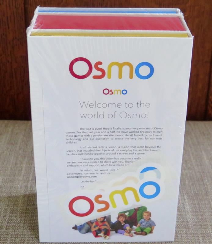 Osmo Starter Kit Tangram Words Base iPad Apple Play Learning Game NEW SEALED