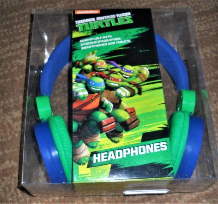 New Nickelodeon Teenage Mutant Ninja Turtles Headphones IPHONES IPAD TABLET KIDS