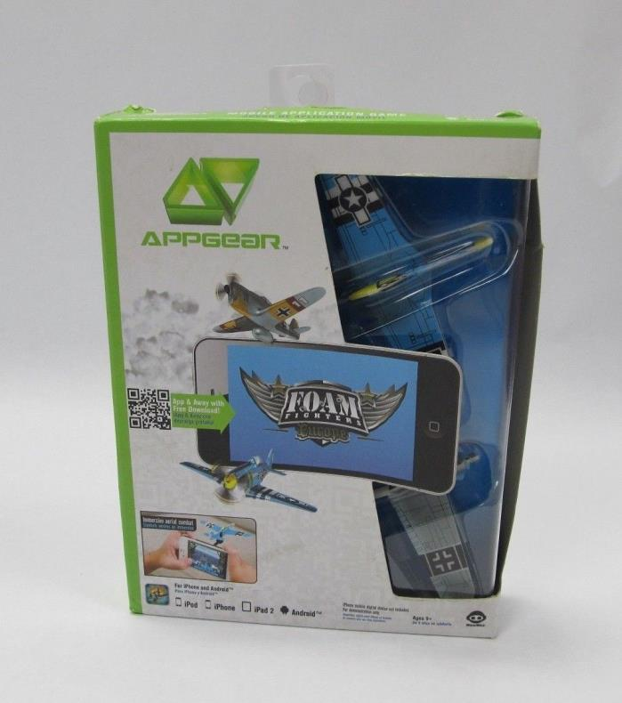AppGear WWII Foam Fighters Europe Mobile App Game iPhone iPod Android WowWee NEW