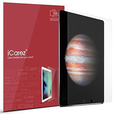 Apple 12.9-inch iPad Pro Screen Protector , iCarez [HD Anti Glare] [ Unique Hing