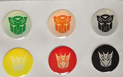 Transformers+107  IPHONE 5 Home Button Sticker cover 6pk Free gift with purchase