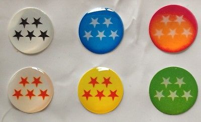 Polka Dot Stars+more 116 IPHONE 5 HomeButton Sticker 6pk Free gift with purchase