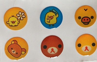 Little faces + 108  IPHONE 5  Home Button Sticker cover Free gift with purchase