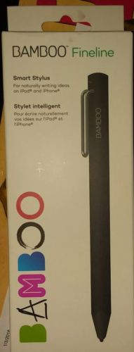 Wacom Bamboo Fineline 3rd generation Stylus, Black #CS610CK iPhone & iPad