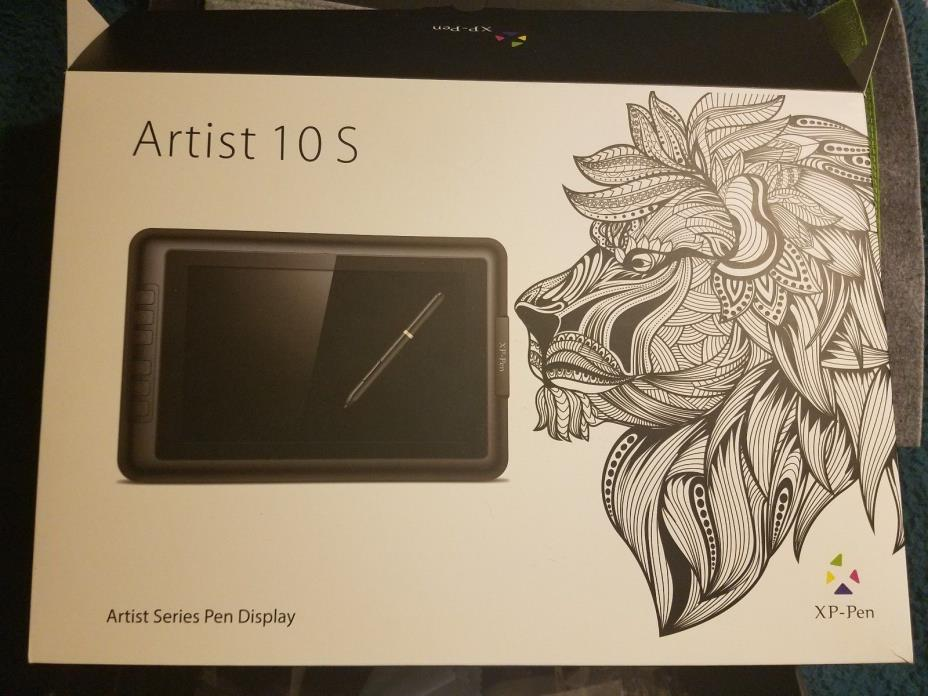 XP-Pen Artist10S IPS 10.1-Inch Drawing Monitor