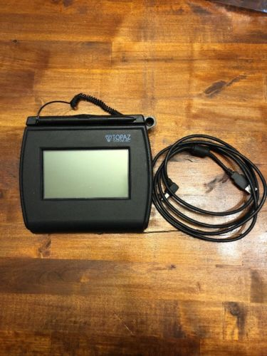 Topaz Systems T-LBK750-BHSB-R Electronic Signature Capture Pad