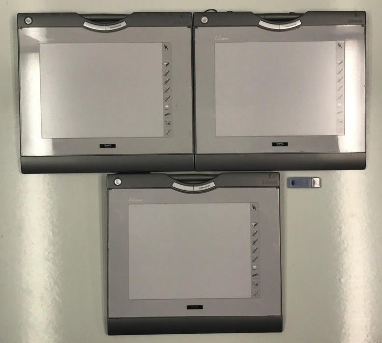 Smart AirLiner WS100 Lot of 3 Bluetooth Wireless Slates Tablets (CTE-630BT)