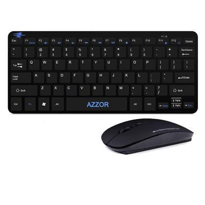 Keyboard And Mouse Set Gaming Wireless 2.4G  To Computer Multimedia Gamer For Pc