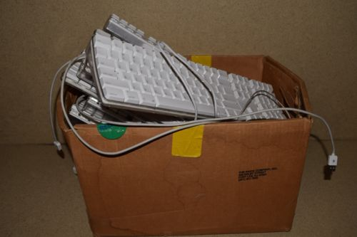 ^^ APPLE KEYBOARDS LOT OF 13 A1314 (2), A1243 (1), A1048 (10)