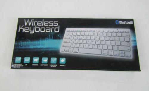 Wireless Bluetooth keyboard tablet laptop Apple, Android, Windows, Free U.S ship