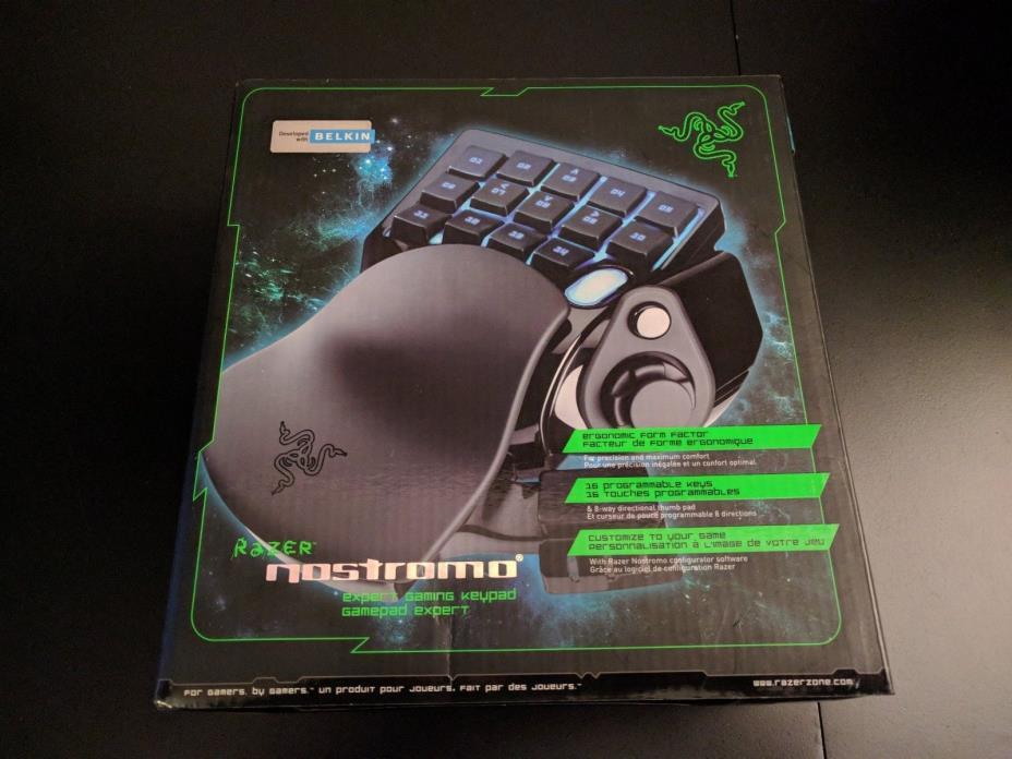RAZER Nostromo PC Gaming Keypad New Sealed