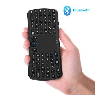 Mini Bluetooth Keyboard Jelly Comb Rechargable Handheld Remote Control Wireless
