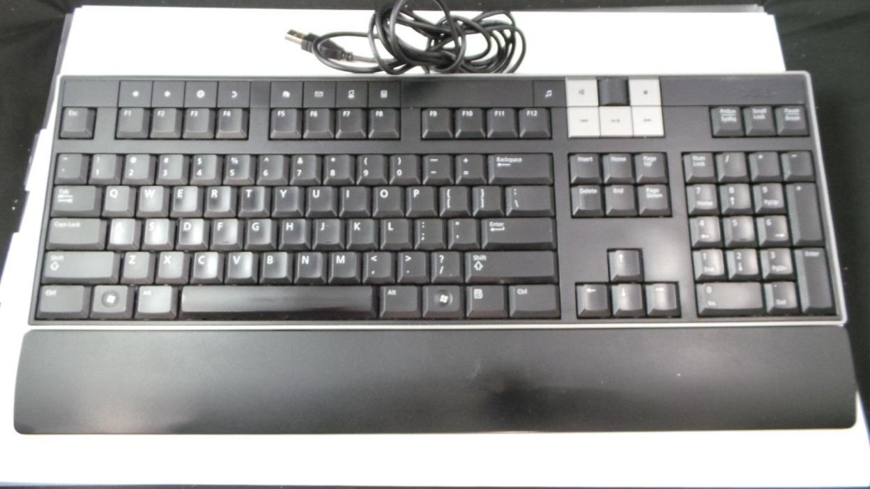 Dell Y-U0003-DEL5 U473D Multimedia PC Desktop Keyboard w/ Removable Palmrest