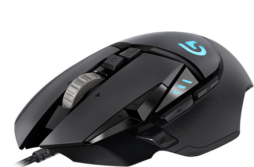 Logitech G502 Proteus Spectrum Tunable Gaming Mouse - New In-Box - Free Shipping