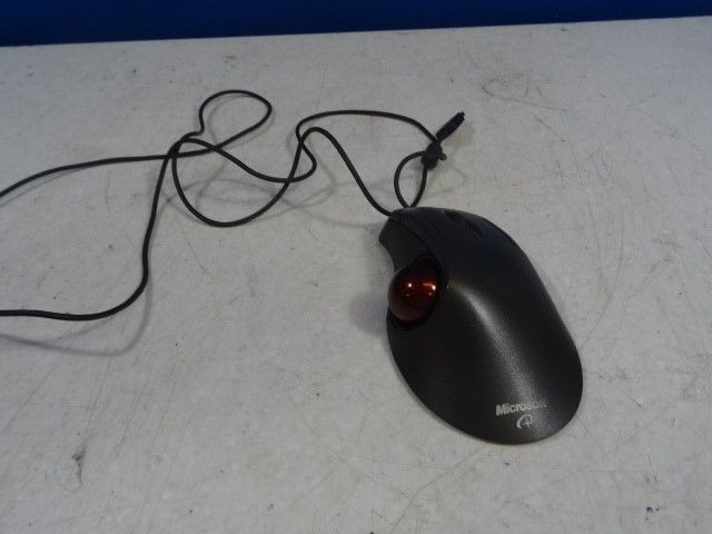 MICROSOFT TRACKBALL OPTICAL MOUSE USB 1.0 PS2/USB. w/ ball