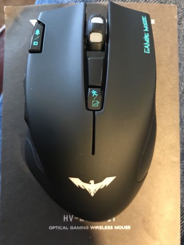 Manic Eagle HV-MS978GT 6 Button 2400 DPI Wireless Gaming Mouse