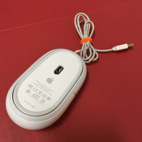 Apple Mac Mighty Mouse A1152 Wired Optical USB | Good Condition