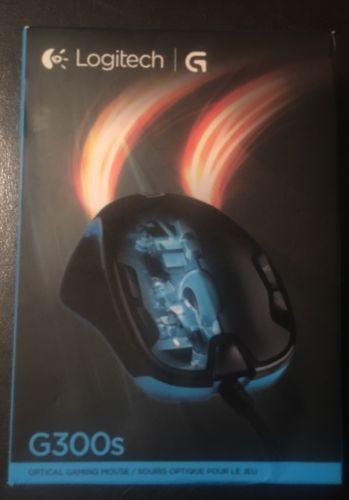 Logitech G300s Optical Gaming Mouse -Programable Buttons & Customizable Lighting