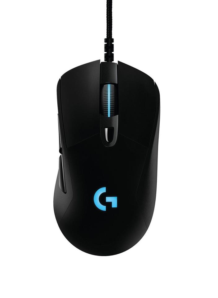 Logitech G403 Prodigy RGB Gaming Mouse, 16.8 Million Color Backlight- Brand New!