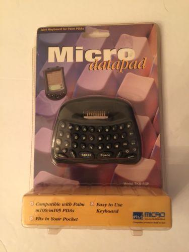 Palm PDA micro innovations datapad keyboard  pocket-size  TKB160P