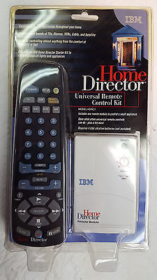 IBM Home Director Universal Remote Control Kit HDRC1 NOS factory sealed