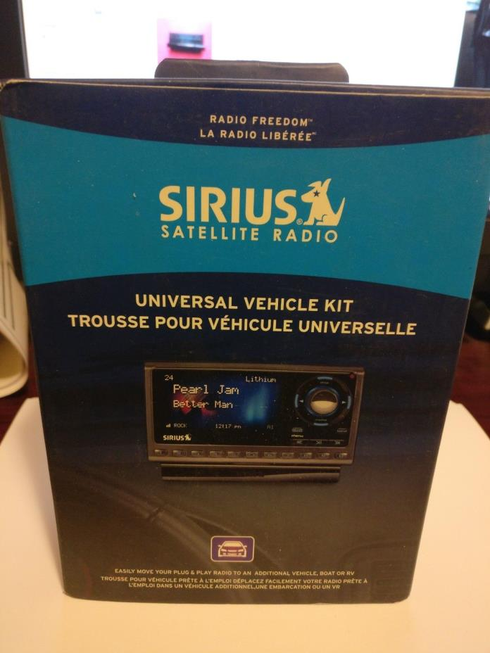 * NEW SIRIUS UNIVERSAL CAR VEHICLE KIT SUPV1 SUPV1C Sportster Starmate Stratus