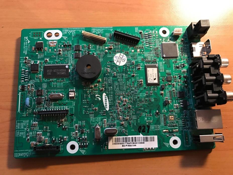Samsung Blu-Ray BD-P1600 Main Board - AK41-00850A Ak92-01778A