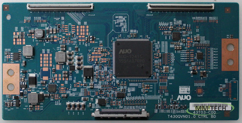 Vizio/Westinghouse 55.43T03.C01 T-con Board for M43-C1 (T430QVN01.0)