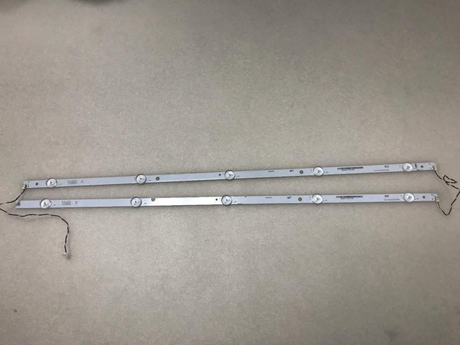 VIZIO D32hn-E0 Backlight Strips IC-A-VZAA32D755A & IC-A-VZAA32D755B New.