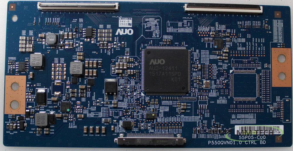 Sharp/Vizio 55.55T22.C04 T-Con Board (P550QVN01.0) LC-55UB30U