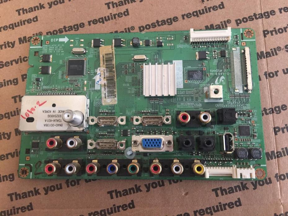 Samsung LN40B530P7FXZA Main Board BN94-02746E BN97-03324E BN41-01181A