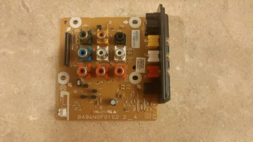 Emerson LD190EM1 LD190EM2 TV AV Inputs Board BA94N0F0102 2_A 60 Day Warranty