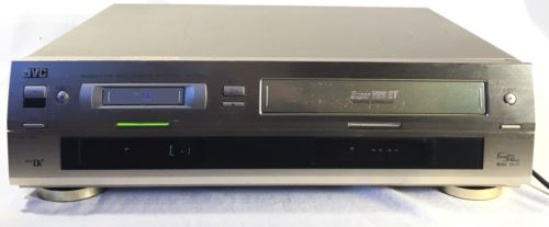 JVC HR DVS1U VCR Video Cassette Recorder