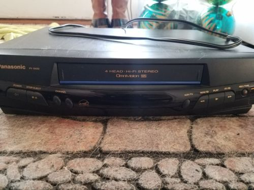 Panasonic PV-8450 4 Head Omnivision Hi-Fi Stereo VHS VCR used