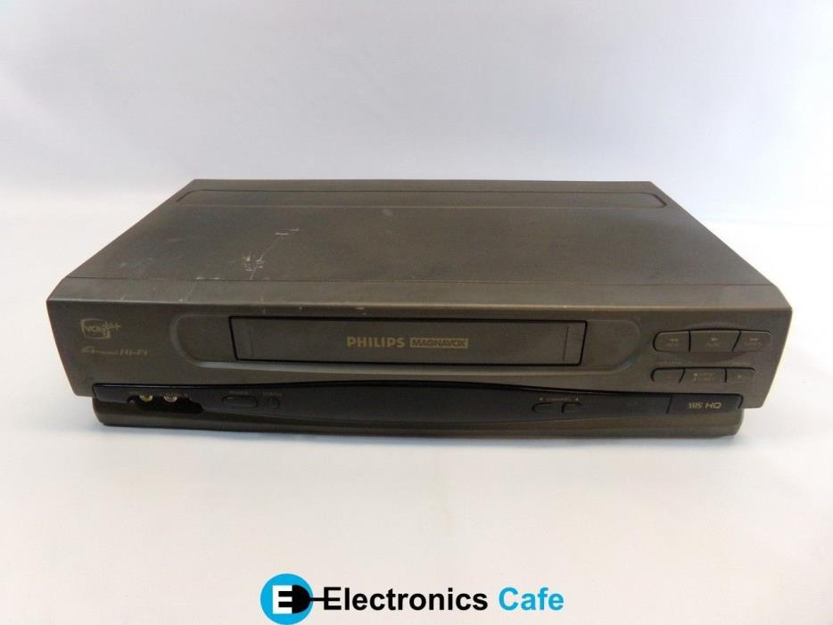 Philips VRZ263AT21 VHS VCR Video Cassette Recorder Player *No Remote*