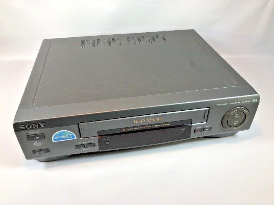 Sony SLV-662HF VCR VHS Video Tape Cassette Recorder Player Tested!
