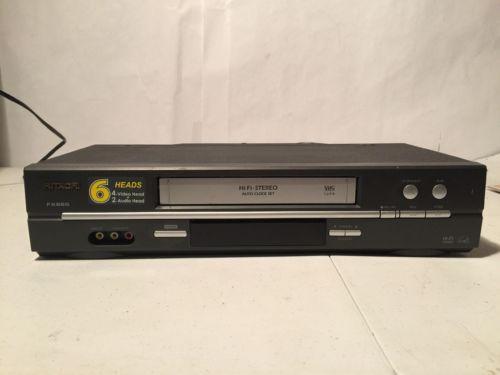 Hitachi FX665 6 Head VHS VCR Video Cassette Player Recorder VT-FX665 no remote