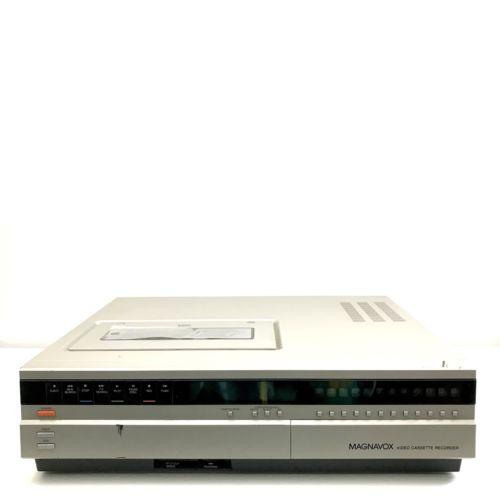 Vintage Magnavox Top Load VCR Player VHS VR8400BK01