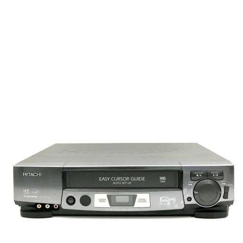Hitachi VHS EP Head Dynamic Picture Enhancer HiFi VCR VT-FX6404