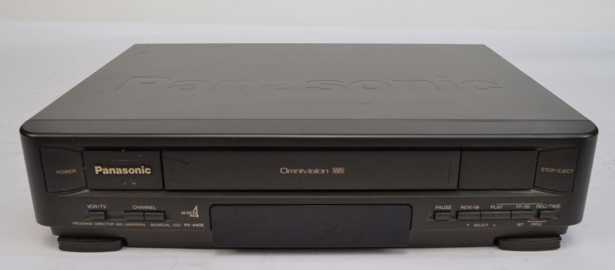Panasonic PV-4408 Omnivision VCR Video Cassette Recorder *No Remote*